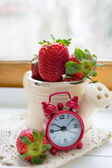 Fresh strawberry fruits — Stock fotografie