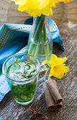 Estragon lemonade  — Foto de Stock