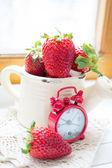 Fresh strawberry fruits — Stock Photo