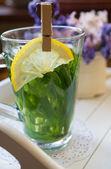 Estragon lemonade  — Stock Photo