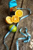 Citrus diet — Foto Stock