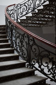 Staircase in old house — Stock Photo