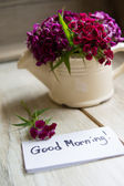 Good morning note — Stock Photo