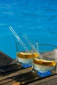 プールや飲み物 — ストック写真