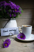 Koffie tijd — Stockfoto