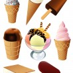Ice cream — Stock Vector #1637489