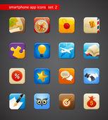 Verzameling van apps icons — Stockvector