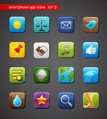 Collection d'icônes d'applications — Vecteur