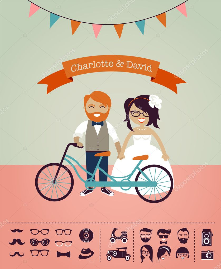 Herunterladen - Hipster Hochzeit - entwerfen Sie Ihre eigene ...