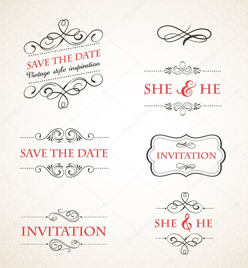Standard Wedding Invite Size with good invitations layout