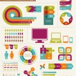 Royalty-Free Stock Vector Image: Elements and icons of infographics