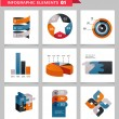Elements and icons of infographics — Stock Vector #28185213