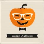 Happy Hipster Halloween — Stock Vector