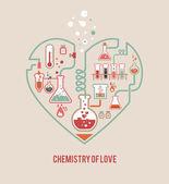 Alchimie de l'amour — Vecteur