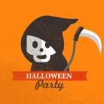 Halloween cute poster. Vector illustration — Stock Vector #50390005
