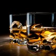 Stock Photo: Two glasses of whisky