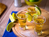 Tequila shots — Stock Photo