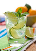 Summer mojito — Stock Photo