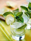 Summer cocktails — Stock Photo