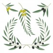 Royalty-Free Stock Vector Image: Olive branches