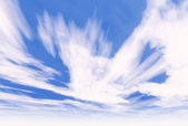 Sky clouds — Stock Photo
