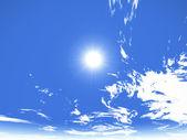 Sun and sky — Stock Photo