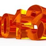 Year 2013 — Stock Photo