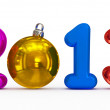 Stock Photo: Year 2013 playful