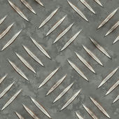 Metal diamondplate seamless — Stock Photo