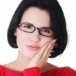 Woman with toothache — Stock Photo #14915883