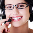 Call center woman — Stock Photo #19396799