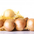 Ripe onion - Stock Photo