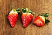 свежая клубника — Стоковое фото