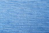 Blue textile texture — Stock Photo