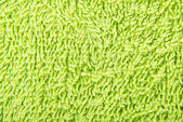 Green towel — Foto de Stock