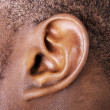 Ear close up - Stok fotoğraf