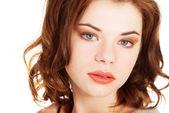Schöne junge frau portrait — Stockfoto