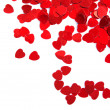Stock Photo: Valentines composition of the hearts.