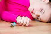十代の薬物乱用の概念 — ストック写真