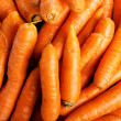 Stock Photo: Carrots - a close up of the fresh.