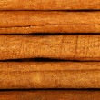 Pieces of cinnamon, close up. — Stock Photo