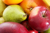 Close up on fruit composition. — Stock Photo