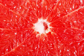 Reddish flesh- pulp of grapefruit. — Stock Photo