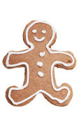 Gingerbread Man Christmas cookie. — Stock Photo