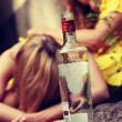 Teen alcohol addiction — Stock Photo #39718803