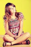 подросток женщина — Стоковое фото