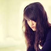 Mujer en depresión — Foto de Stock