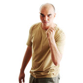 Angry man — Foto Stock