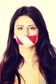 Vrijheid van meningsuiting — Stockfoto