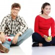 Group of university students. — Stock Photo #41074423